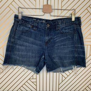 Madewell Cutoff Denim Shorts
